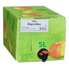 Kaisers Warmer Apfel (5 l Bag-in-Box)