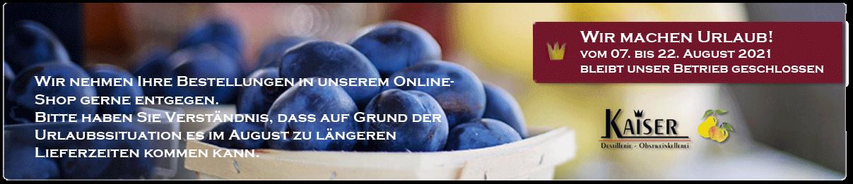 Mosterei - Destillerie - Obstweinkellerei